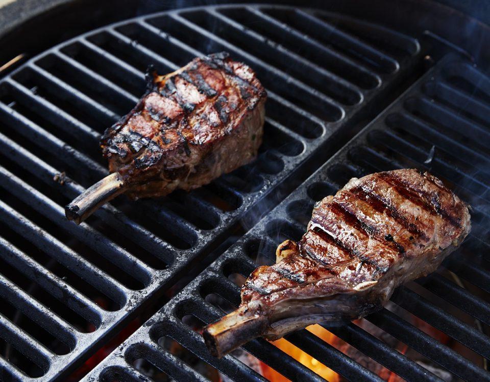 KamadoJoe Keramiskais grils – ideāls variants steiku pagatavošanai